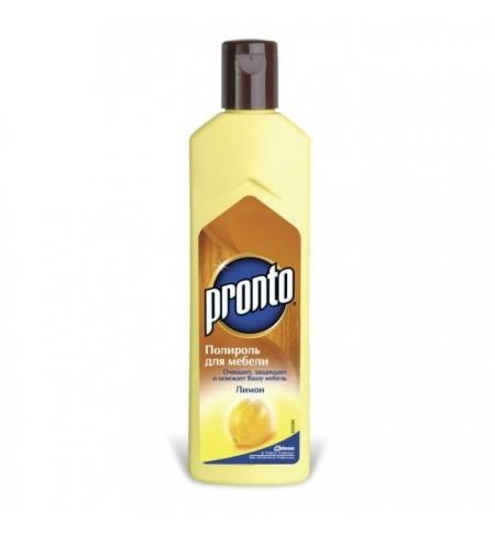фото: Полироль для мебели Pronto Лимон 300мл, жидкость
