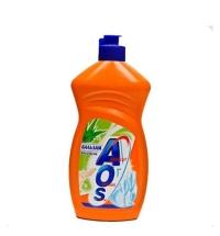 Средство для мытья посуды AOS 'Бальзам Алое вера', 450мл