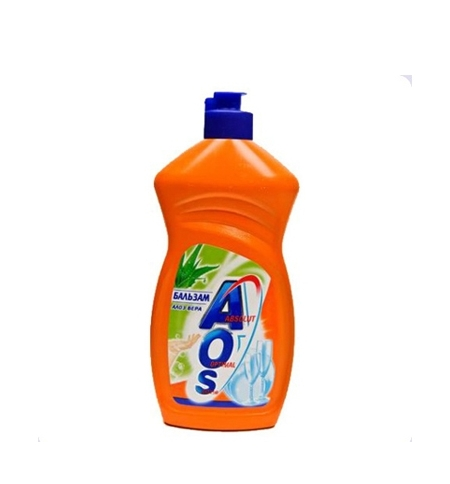 фото: Средство для мытья посуды AOS 'Бальзам Алое вера', 450мл