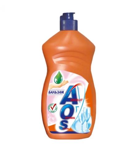 фото: Средство для мытья посуды Aos 500мл, бальзам