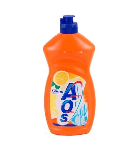 фото: Средство для мытья посуды Aos 500мл, лимон, бальзам