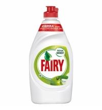 Средство для мытья посуды Fairy 450мл, зеленое яблоко, гель