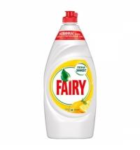 Средство для мытья посуды Fairy 900мл, лимон, гель, пена-эффект