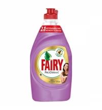 Средство для мытья посуды Fairy ProDerma 450мл, шелк/ орхидея, гель