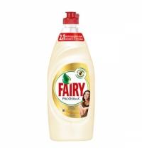 Средство для мытья посуды Fairy ProDerma 650мл, алоэ вера/ кокос, гель