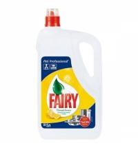 Средство для мытья посуды Fairy Professional 5л, сочный лимон, гель