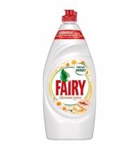 Средство для мытья посуды Fairy Нежные руки 900мл, ромашка/ витамин E, гель, пена-эффект