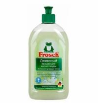Средство для мытья посуды Frosch 500мл, лимон, гель