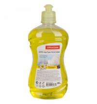 Средство для мытья посуды Officeclean 500мл, ромашка с витамином Е