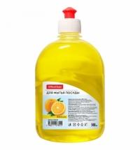 Средство для мытья посуды Officeclean Professional Апельсин, 500мл, пуш-пул