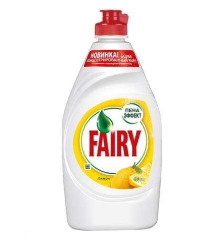 фото: Средство для мытья посуды P&g 450мл, сочный лимон