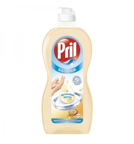 фото: Средство для мытья посуды Pril 450мл, аргановое масло, бальзам