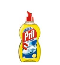Средство для мытья посуды Pril Дуо Актив 450мл, лимон, гель