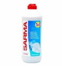 Средство для мытья посуды Sarma 500мл, свежесть, гель