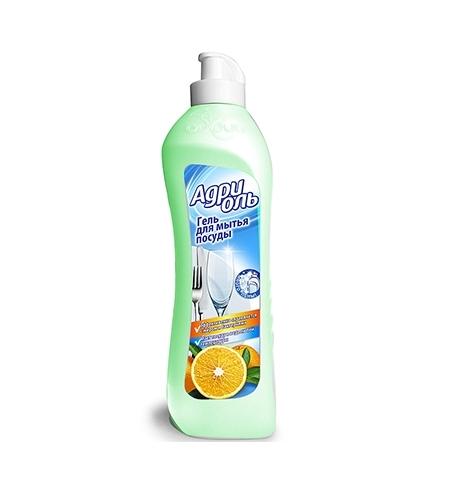 фото: Средство для мытья посуды Адриоль 500мл, апельсин, гель