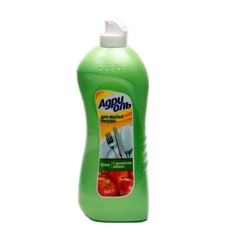 фото: Средство для мытья посуды Адриоль Яблоко, 850мл