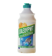 Средство для мытья посуды Аист Лазурит 500мл, грейпфрут, гель