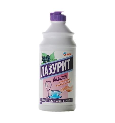 фото: Средство для мытья посуды Аист Лазурит 500мл, ежевика, бальзам