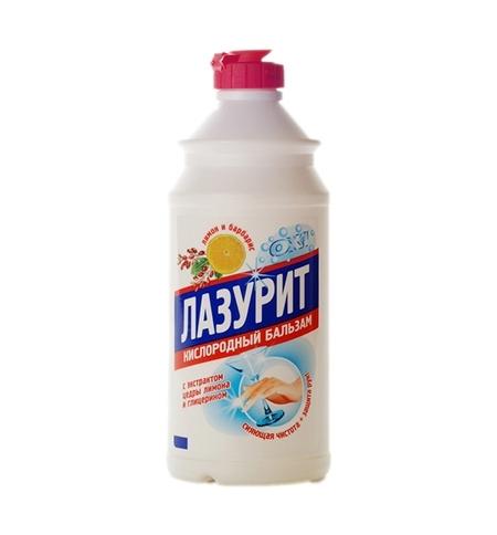 фото: Средство для мытья посуды Аист Лазурит 500мл, лимон/ барбарис, бальзам