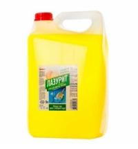 Средство для мытья посуды Аист Лазурит 5л, грейпфрут, гель