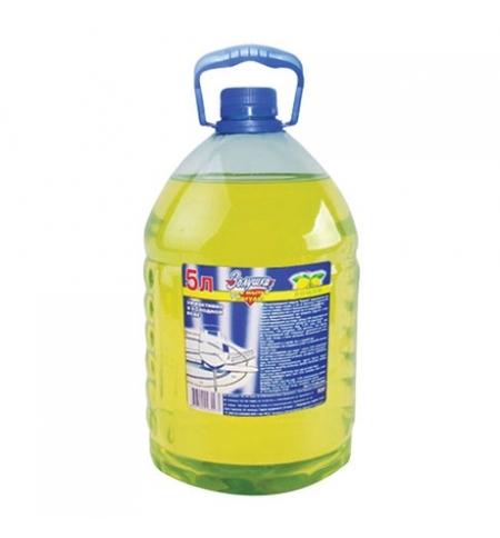фото: Средство для мытья посуды Золушка 5л, лимон, гель