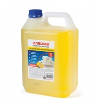 Средство для мытья посуды Лайма Professional Лимонн, 5л, концентрат