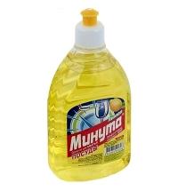 Средство для мытья посуды Минута 500мл, лимон, гель