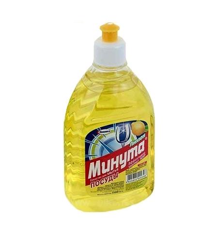 фото: Средство для мытья посуды Минута 500мл, лимон, гель