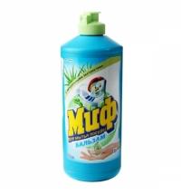 Средство для мытья посуды Миф 500мл, алоэ вера, бальзам