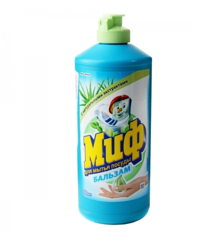 фото: Средство для мытья посуды Миф 500мл, алоэ вера, бальзам