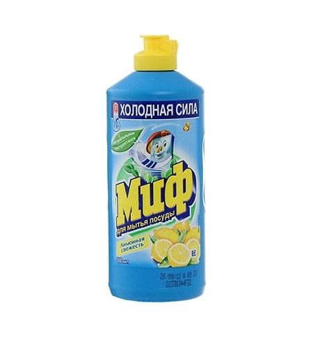 фото: Средство для мытья посуды Миф лимонная свежесть, 500мл