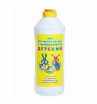 Средство для мытья посуды Невская Косметика 500мл, детский, гель