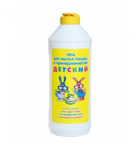 фото: Средство для мытья посуды Невская Косметика 500мл, детский, гель