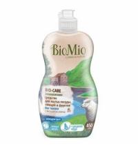Средство для посуды и детских принадлежностей Bio Mio Эко 450мл, экстракт хлопка, концентрат