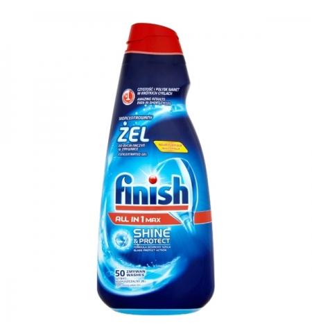 фото: Гель для посудомоечной машины Finish 1л, гель