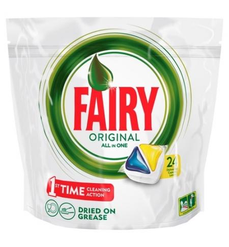 фото: Капсулы для ПММ Fairy All in 1 Original, 24шт, лимон