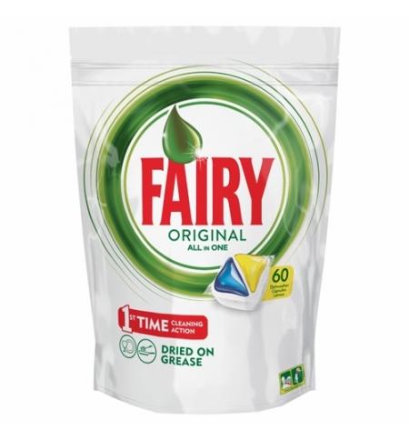 фото: Капсулы для ПММ Fairy All in 1 Original, 60шт, лимон