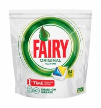 Капсулы для ПММ Fairy All in 1 Original, 84шт, лимон