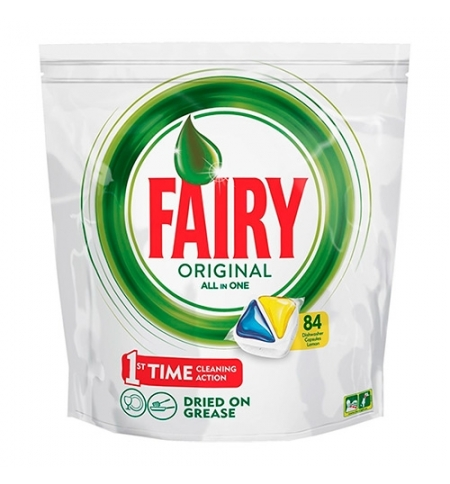фото: Капсулы для ПММ Fairy All in 1 Original, 84шт, лимон