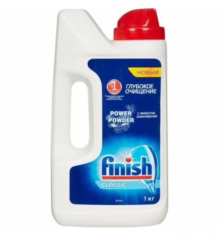 фото: Порошок для посудомоечной машины Finish Classic 1кг, порошок