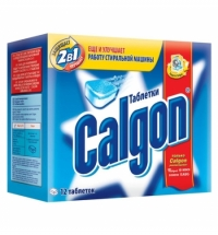 Средство для смягчения воды Calgon 2в1 12шт, в таблетках