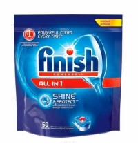 Таблетки для ПММ Finish All in 1 50шт