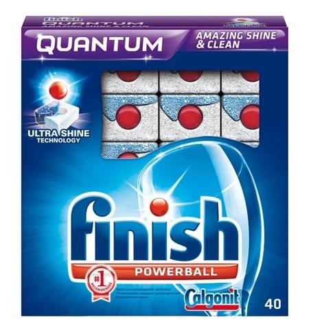 фото: Таблетки для ПММ Finish Quantum 40шт