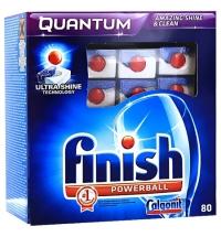 Таблетки для ПММ Finish Quantum 80шт