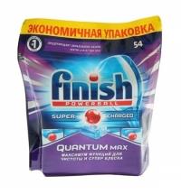 фото: Таблетки для ПММ Finish Quantum Max 54шт