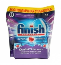 Таблетки для ПММ Finish Quantum Max 54шт