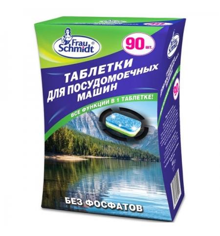 фото: Таблетки для ПММ Frau Schmidt без фосфатов, 90шт