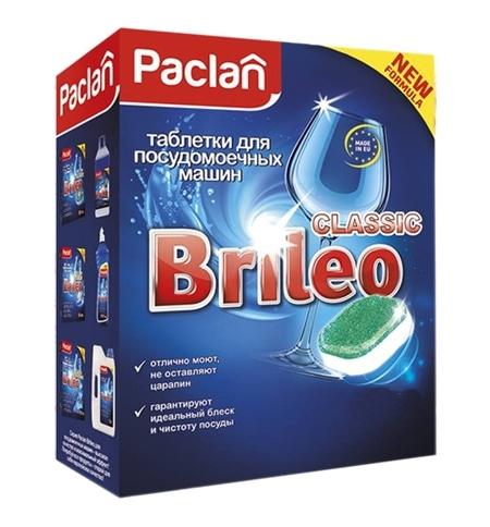 фото: Таблетки для ПММ Paclan Brileo Classic 100шт