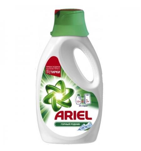 фото: Гель для стирки Ariel 1.3л, горный родник