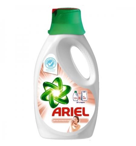 фото: Гель для стирки Ariel 1.3л, для чувствительной кожи